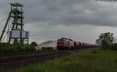 233 232 Ilberstedt 27.05.2019 (Falk Hoffmann) Tags: diesellok eisenbahn bahnhof güterzug dbcargo dbschenker ludmilla br132 br232 br233