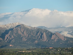 May 24, 2019 - Beautiful look at the Flatirons. (David Canfield)