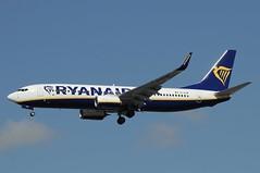 EI-GJM (LIAM J McMANUS - Manchester Airport Photostream) Tags: eigjm ryanair fr ryr boeing b737 b738 738 b73h 73h boeing737 boeing737800 egcc manchester man