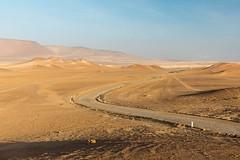 Ondulaciones en el desierto, Peru