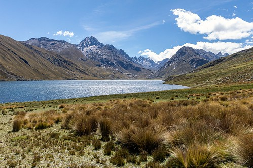 Laguna Querococha, Ancash, Peru