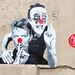 Pasted paper by Mimi The Clown [Paris 3e]