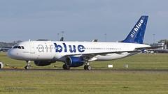 OEIGT A320 Air Blue (Anhedral) Tags: oeigt airbus a320 a320200 airblue einn snn