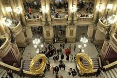 PARIS - OPERA GARNIER (Maikel L.) Tags: europa europe france francia frankreich paris architecture architektur opera oper operagarnier palaisgarnier culture kultur capital hauptstadt gold golden treppen stairways