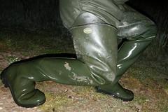Le Chameau at Mucking Flats (essex_mud_explorer) Tags: lechameau delta waders boots thigh thighboots thighwaders hip rubberwaders rubberboots watstiefel cuissardes rubberlaarzen gummistiefel mudflats muckingflats estuary essex stanfordlehope estuarymud tidal wellybanger