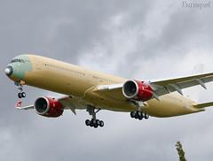 F-WZNU Airbus A350-1000 Virgin Atlantic (@Eurospot) Tags: gvpop fwznu airbus a350 a3501000 lfbo toulouse blagnac virginatlantic