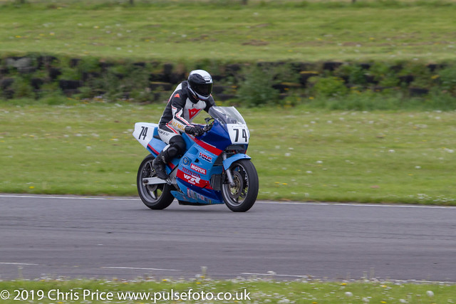 CRMC Pembrey  Race 36 Post Classic Superbike 1 and Superstock