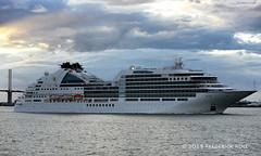 Seabourn Ovation (Nassau) (© Freddie) Tags: riverthames thames kent greenhithe qe2 dartfordcrossing seabournovation liner cruiseliner fjroll ©freddie