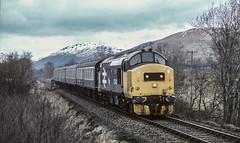 Ahead of the rain (jbg06003) Tags: class37 374 largelogo scotland scotrail scr whl co