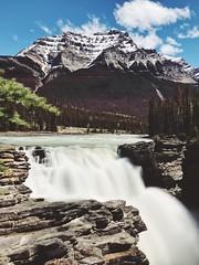 Chasing Waterfalls (MarkValdez) Tags: alberta columbia athabasca falls