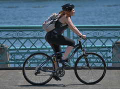 Bicycling (Scott 97006) Tags: woman female lady ride rider bicycle cycling exercise