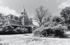 Planted (Baldran) Tags: abandoned vacant derelict decay ruin rural mansion sanitarium urban exploration