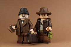 Dad! & Junior! (Will HR) Tags: lego indiana jones last crusade