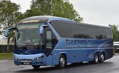J200TRU  Truemans, Ash Vale (highlandreiver) Tags: gretna j200tru tru j200 truesmans coaches ash vale neoplan tourliner bus coach green
