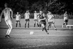 Lincoln High School Soccer (Phil Roeder) Tags: desmoines iowa desmoinespublicschools lincolnhighschool soccer sports athletics athletes sport football canon6d canon100400 blackandwhite monochrome