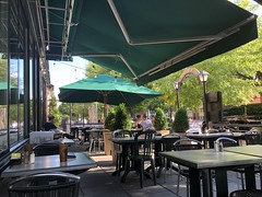 Memorial Day afternoon, patio at Dupont Italian Kitchen, 17th Street NW, Washington, D.C. (Paul McClure DC) Tags: washingtondc districtofcolumbia may2019 restaurant people dupontcircle architecture