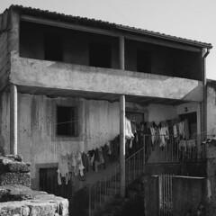 Surreal reality (lebre.jaime) Tags: portugal beira peroviseu architecture laundry analogic film120 6x6 mf mediumformat bw blackwhite noiretblanc pb pretobranco rollei retro80s iso80 hasselblad 500cm planar cf2880 affinity affinityphoto