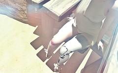 I wish that I was just a... (Ghoulina Waffle) Tags: sl slart slphotography secondlife digitalart dreaming robots fantasy bruises prosthetics kaithleens azoury enfersombre doux photoscapex windlight virtualworlds mesh maitreya