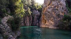 Termas de Montanejo (Sakandarra) Tags: montanejos castellón agua termas río mijares baños pozas paredes rocas fuente luz templada