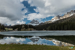 Lago di Misurina (capellini.chiara) Tags: italy paesaggi dolomiti mountains reflection landscape nature trentinoaltoadige lakeofmisurina lagodimisurina