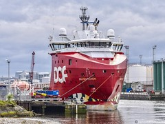 Skandi Feistein - Aberdeen Harbour Scotland - 26th May 2019 (DanoAberdeen) Tags: danoaberdeen aberdeen aberdeenscotland aberdeenharbour aberdeenshire shipspotting candid amateur 2019 offshore offshoreships tugboats quay winter wasser ecosse escotia riverdee transport oilships oilrigs psv pocraquay port abz abdn aberdeencity summer spring seafarers seaport docks footdee fittie grampian harbour haulage lifeatsea szkocja clouds cargoships vessels bluesky boats nikond750 northsea northeast maritime merchantships merchantnavy shipspotters boat workboats skandifeistein dofoffshore scotch