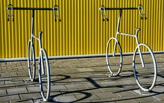 BIKE STANDARDS (Maarten Kleijkamp) Tags: bike biciclettes fahrrad shadow vélo vélostandard bicyclestand fahrradstandard bicicleta bicicletaestándar bicicletta standard per biciclette sykkelstandard sykkel cykelstandard cykel 自行车标准自行车 自転車標準自転車 steel