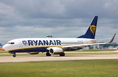 Ryanair EI-EKT Boeing 737-8AS flight FR4116 departure from Manchester MAN England UK bound for Murcia RMU Spain (Cupertino 707) Tags: ryanair eiekt boeing 7378as flight fr4116 departure from manchester man england uk bound for murcia rmu spain