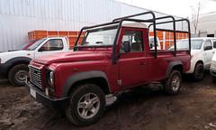 Land Rover Defender 110 Pick up 2014 (RL GNZLZ) Tags: landrover defender110 pickup 2014 4x4 tdi