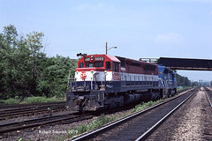 In for A Trade (NSHorseheadSD70) Tags: robert tokarcik trains railroads railways locomotives conrail cresson pennsylvania emd sdp45 erie lackawanna bicentennial unit helpers