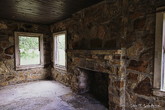 _MG_7209-Edit (Scott Sanford Photography) Tags: 6d abandoned canon cisco ef24105f4l eos hdr lakeciscolodge stone texas decay fireplace forgotten ruins windows wooden ghosttown