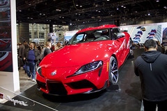 New Supra (Hertj94 Photography) Tags: toyota supra chicago auto show mccormick place illinois february 2019 canon t3