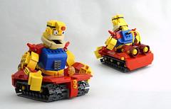 GutsDozer (TFDesigns!) Tags: lego megaman guts man dozer boss dr wily nintendo