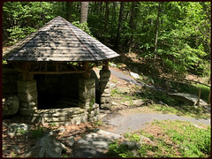 Mohonk Spring (Markus Alydruk) Tags: mohonkspring mohonk mohonkpreserve spring woods forest ulstercounty ny newyork upstate chalet shed hut hiking watersupply