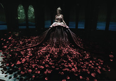Lets Dance (Brilliantly Sarcastic) Tags: 3d vr sl second life virtual gamer girl online blonde gown moon amore truth apple romantic beautiful wedding bridal glamorous gorgeous dress roses flowers detailed details inworld style stylish gothic vamp