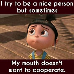 I try to be a nice person sometimes (quotesoftheday) Tags: i try be nice person sometimes delivered by feed43 service