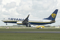 EI-FTZ | Ryanair | Boeing B737-8AS(WL) | CN 44773 | Built 2017 | DUB/EIDW 10/05/2019 (Mick Planespotter) Tags: aircraft airport 2019 nik sharpenerpro3 eiftz ryanair boeing b7378aswl 44773 2017 dub eidw 10052019 dublinairport collinstown b737 flight