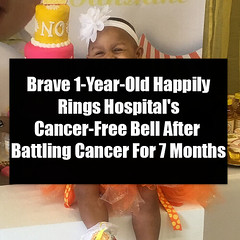 Brave 1-Year-Old Happily Rings Hospital's Cancer-Free Bell After Battling Cancer For 7 Months (quotesoftheday) Tags: brave 1yearold happily rings hospitals cancerfree bell after battling cancer for 7 months delivered by feed43 service