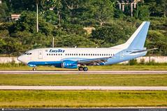 [HAV.2017] #EasySky.Airlines #EKY #Boeing #B737 #B735 #HR-EMH #Honduras #awp (CHRISTELER / AeroWorldpictures Team) Tags: airlines airliner south america central easyskyairlines eky honduras plane aircraft airplane avion boeing b737 b735 7375yo msn251762155 engines cfmi cfm56 hremh renton rnt krnt chinasouthernairlines cz csn gecas b2547 aerolineasargentinas ar arg volito aviation lvbeo wfbn wellsfargobanknorthwest n461uf sudamericana de a sudamericanadeaviación ecuador hccpc aeroregional hcctf planespotting havana josémartiairport hav cuba muha spotter christeler avgeek aeroworldpictures awp team spotting nikon d300s nef raw nikkor 70300vr