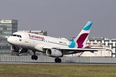 D-AGWA | Eurowings | Airbus A319-132 | CN 2813 | Built 2006 | VIE/LOWW 04/04/2019 (Mick Planespotter) Tags: aircraft airport 2019 nik sharpenerpro3 dagwa eurowings airbus a319132 2813 2006 vie loww 04042019 a319 flight schwechat vienna