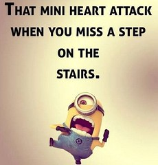 That mini heart attack when you miss a step on the stairs (quotesoftheday) Tags: that mini heart attack when you miss step stairs delivered by feed43 service