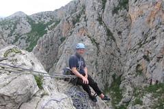 Domzalski Done, Brid za Veliki Cekic to go (slack---line) Tags: paklenica s95 canon stup croatia holiday may 2019 domzalski 6a