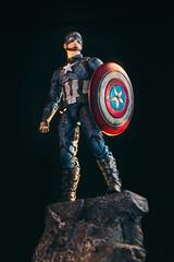 Captain America (Marcelo David) Tags: captainamerica steverogers avengersendgame avengers endgame marvel marvellegends actionfigure photography canon custom