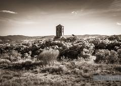 Altres temps (Joan Romero) Tags: sonyflickraward catalunyaromanica ngc sonya77ii bw bnw sepia landscape sky cloud sunset glodenhour