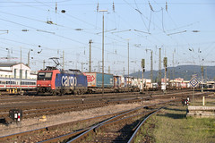 SBB Re 482 025 Basel Bad (daveymills37886) Tags: sbb re 482 025 basel bad baureihe bombardier cargo traxx ac1