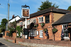 The Barley Mow East Oakley Hampshire UK (davidseall) Tags: the barley mow pub pubs inn tavern bar public house houses east oakley hampshire uk gb british english village country cask marque