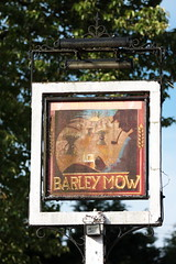 The Barley Mow pub sign East Oakley Hampshire UK (davidseall) Tags: the barley mow pub pubs sign signs inn tavern bar public house houses east oakley hampshire uk gb british english hanging