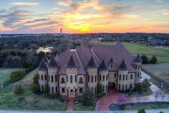 Southlake, TX mansion (TXPhotoJoe) Tags: mansion sunset southlake tx realestate drone aerial part107 phantom4pro hdr brackets