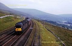 JMB T19 15 D244 on Down EP near Dent Station 18071965 (Ernies Railway Archive) Tags: dentstation mr lms settlecarlislerailway