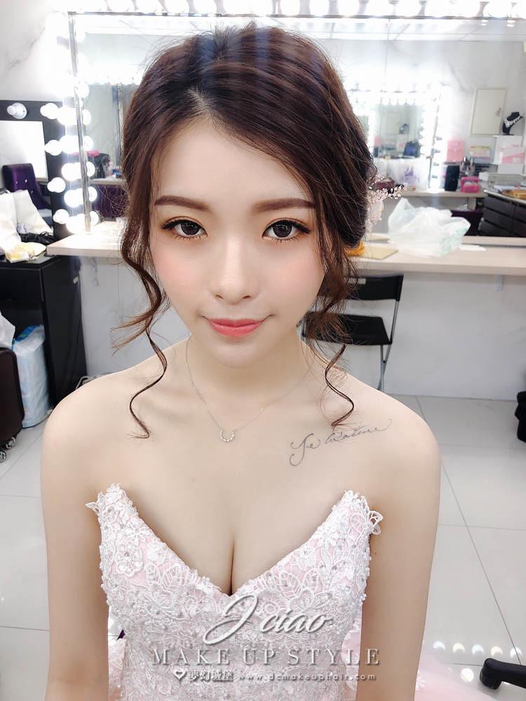 【新秘婕喬】新娘造型創作 / 柔美乾燥花造型