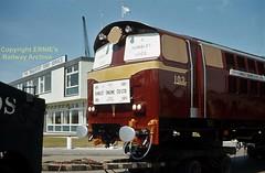 NIR Hunslet Bo-Bo 102 being delivered May 1970 img044 (Ernies Railway Archive) Tags: nir northernirelandrailways hunslet102